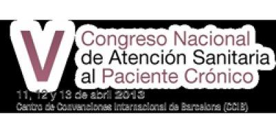 v congreso nacional de atencion sanitaria al paciente cronico