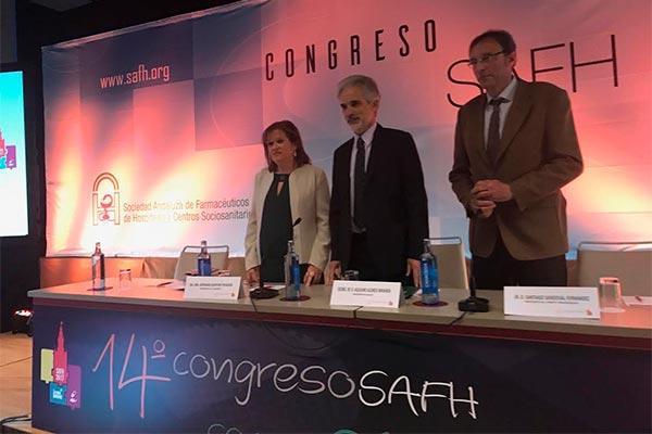 aquilino alonso destaca el potencial del farmacutico como investigador independiente en el congreso safh 2017