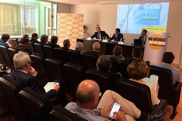 vergeles apuesta por un acuerdo nacional de sostenibilidad con la industria farmacutica