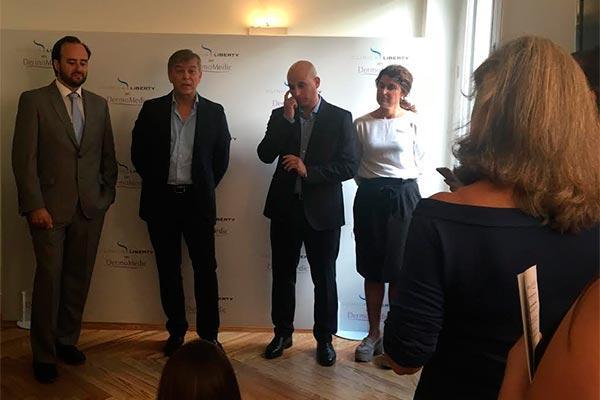clnica liberty abre sus puertas en madrid con la presentacin del mejor tratamiento contra la sudoracin