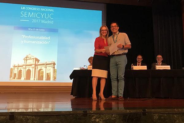 la directora de la ont clausura el congreso semicyuc y entrega el premio rafael matesanz