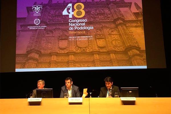 salamanca acogera del 20 al 22 de octubre el 48 congreso nacional de podologia