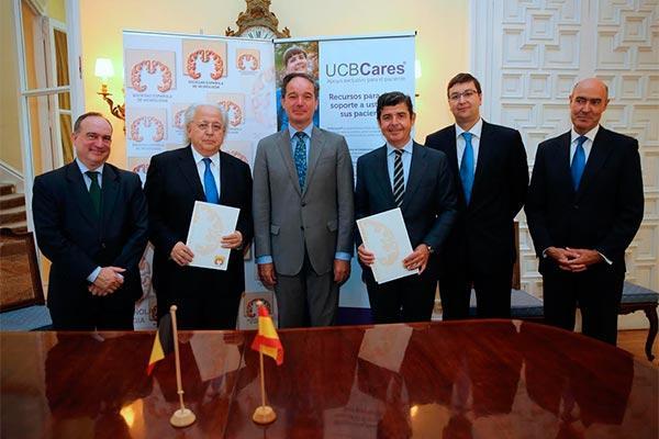 acuerdo marco entre la sen y ucb iberia para la formacin y la investigacin en neurologa