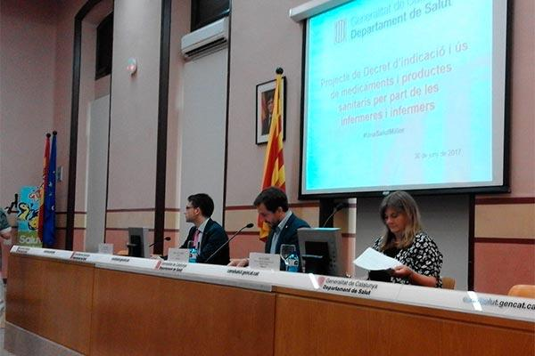 camfic muestra su apoyo pblico al nuevo escenario del rd de indicacin enfermera en catalua