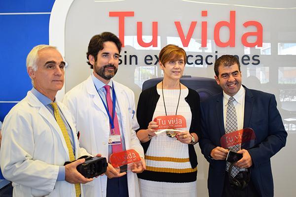 realidad virtual y medicina se unen en el hospital infanta leonor para hacer retroceder la psoriasis