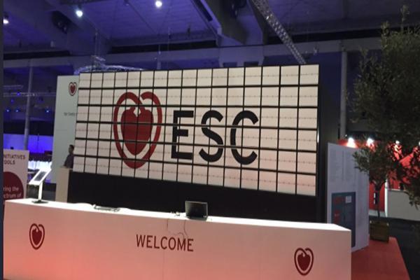 esc congress 2017 expondr ms de 4500 nuevos estudios