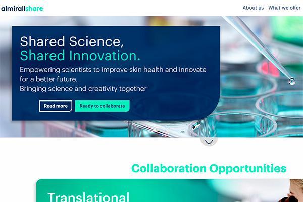 almirallshare la plataforma de innovacin abierta para descubrir soluciones en la salud de la piel