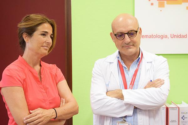 el hospital 12 de octubre redobla sus esfuerzos contra el linfoma