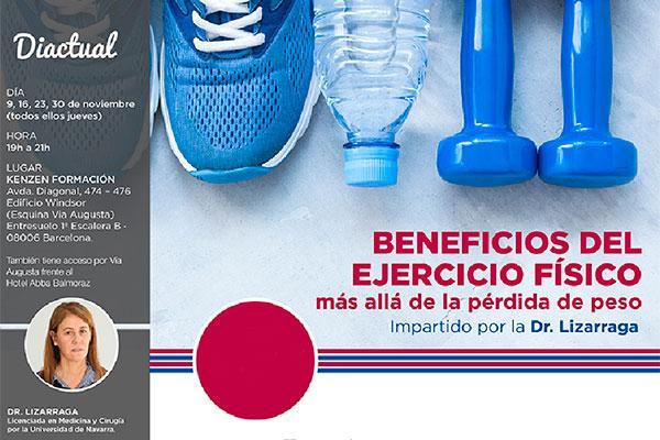 diactual organiza el curso beneficios del ejercicio fsico ms all de la prdida de peso