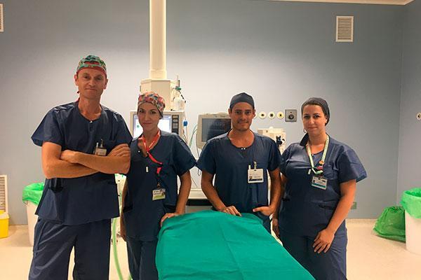 el hospital rey juan carlos incorpora novedosas tecnicas para tratar la patologia compleja de la aorta
