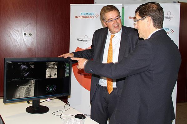 murcia acoge el primer sistema integral de imagen medica de espana