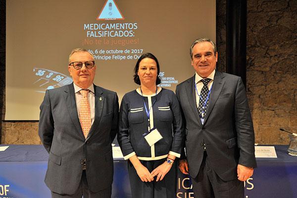 el sector sanitario y farmaceutico aborda en asturias la problematica de losmedicamentos falsificados