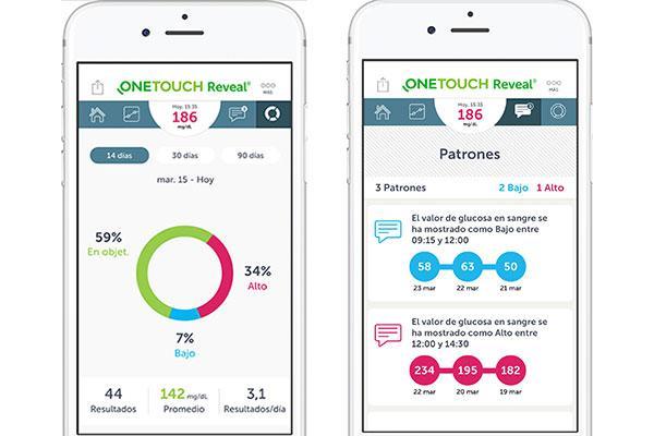 la app de diabetes one touch reveal la ms descargada en norteamrica francia y uk