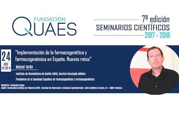 el futuro de los frmacos personalizados inaugura los viinbsp seminarios cientficos fundacin quaes