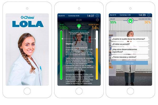 el hospital vall dhebron chiesi espana y gecsen desarrollan la app lola