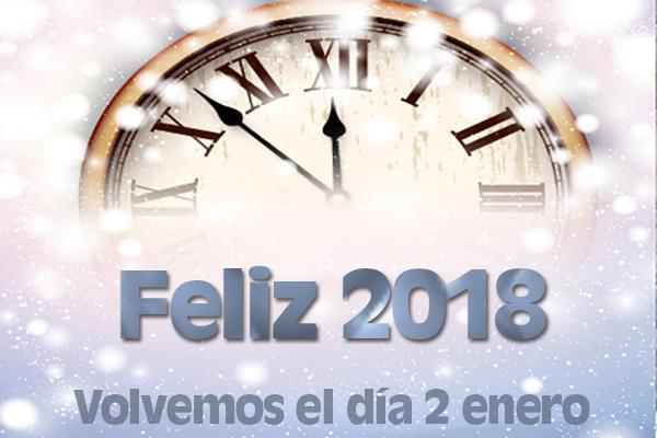 feliz ao nuevo volvemos el 2 de enero