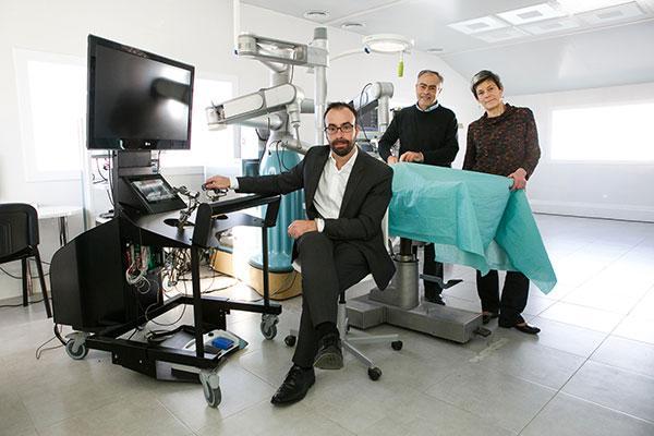 el robot quirrgico bitrack concluye la validacin tcnica con xito para entrar en el mercado