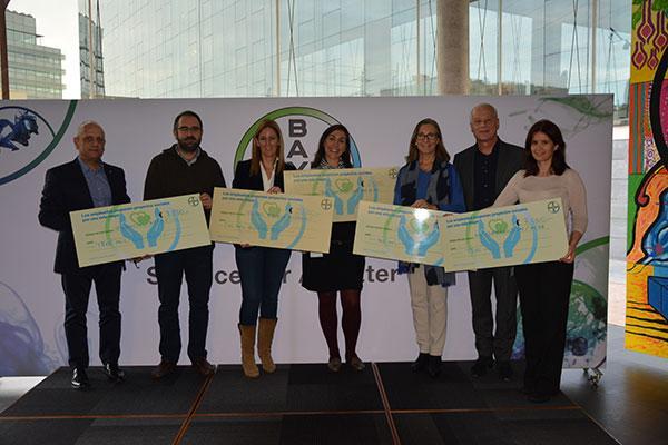 bayer celebra la iv edicion del concurso que anima a sus empleados a proponer proyectos solidarios