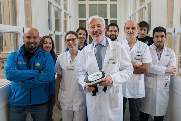 el clnic incorpora la realidad virtual para reducir la ansiedad de los pacientes antes de una operacin