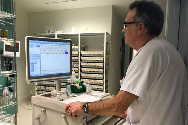 el departamento de salud de gandia incorpora la prescripcin electrnica en hospitalizacin