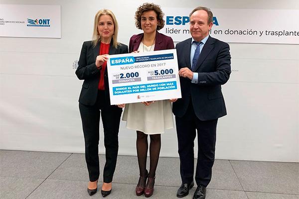 espana sigue batiendo records y vuelve a ser lider mundial en donacion y trasplantes