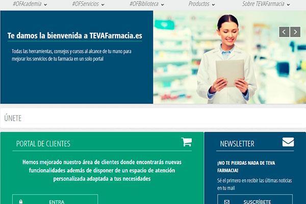 teva lanza un nuevo portal web unificado para la innovacin y el crecimiento de la oficina de farmacia