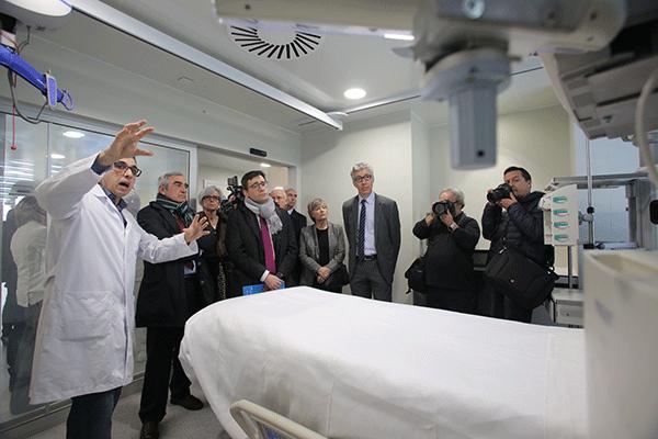 el hospital mutuaterrassa inaugura su nueva uci