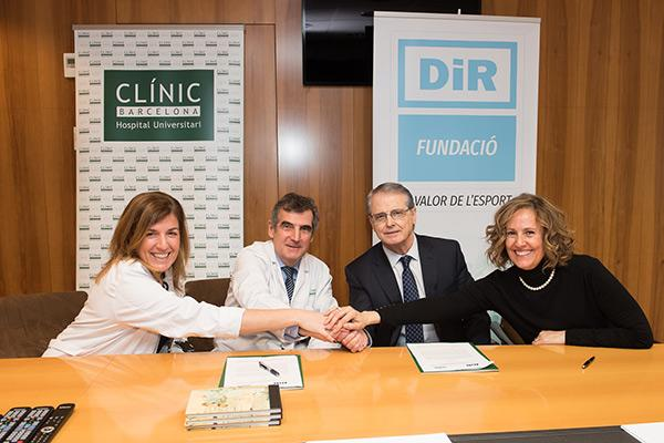 el hospital clinic y dir con la rehabilitacion de los pacientes con problemas cardiacos