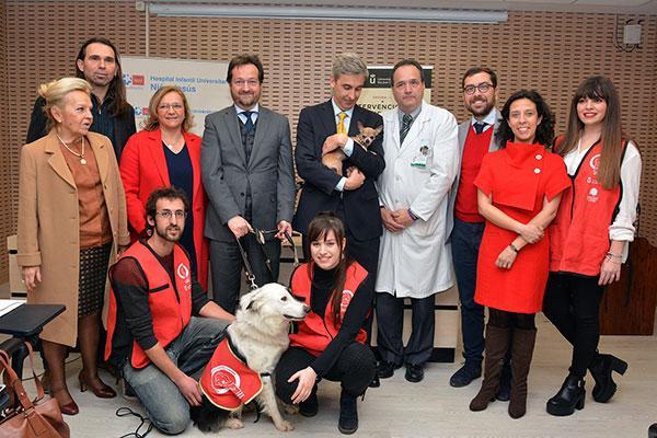 el hospital nio jess presenta la primera unidad de iaa para tratar trastornos de alimentacin