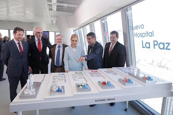 presentado el proyecto del nuevo hospital la paz