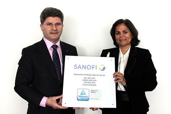 sanofi recibe 4 certificados de salud seguridad y medio ambiente