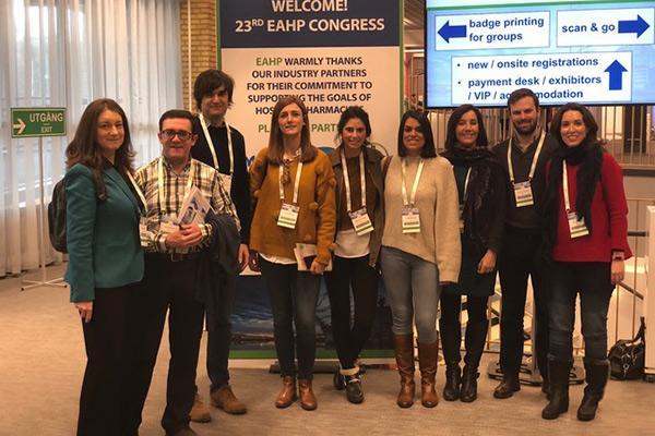 la sefh participa en el congreso de la asociacion europea de farmacia hospitalaria