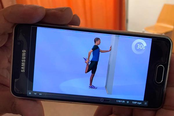 ejes 3d el proyecto que ayuda prescribir ejercicio para el tratamiento de la espondiloartritis