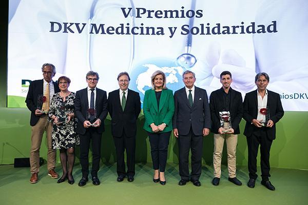 entregados los v premios dkv medicina y solidaridad