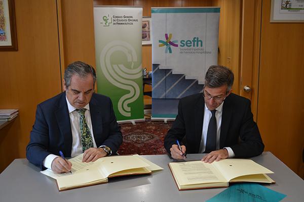 el cgcof y la sefh se unen para desarrollar la recertificacin peridica y voluntaria de los farmacuticos hospitalarios
