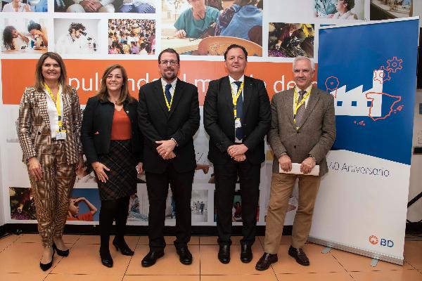 bd 40 anos a la vanguardia de la innovacion y del avance de la salud en espana