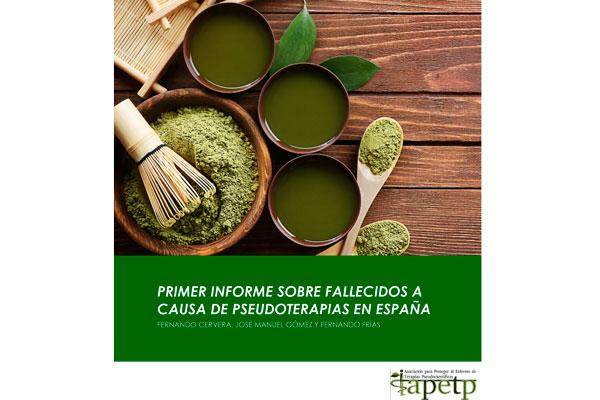 entre 1210 y 1460 muertes en espana son causadas por las pseudoterapias