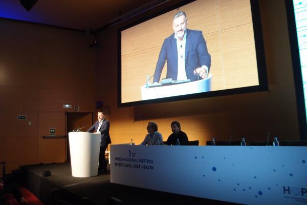expertos debaten sobre big data en salud en barcelona