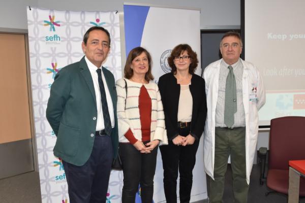 la segg y la sefh celebran la i jornada de geriatria y farmacia hospitalaria