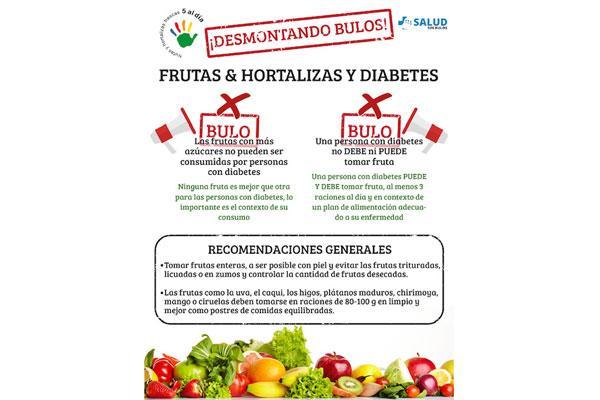 saludsinbulos y 5 al da se unen para combatir los bulos sobre frutas y verduras