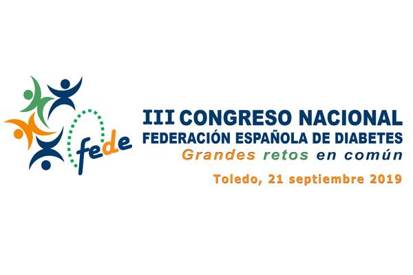 toledo acogera el iii congreso nacional de la federacion espanola de diabetes