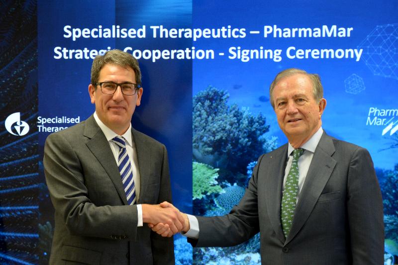 pharmamar-y-specialised-therapeutics-asia-definen-nuevos-acuerdos