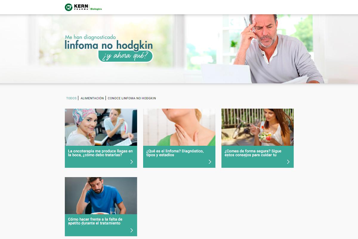 kern-pharma-biologics-lanza-una-web-para-ayudar-a-pacientes-con-linfom