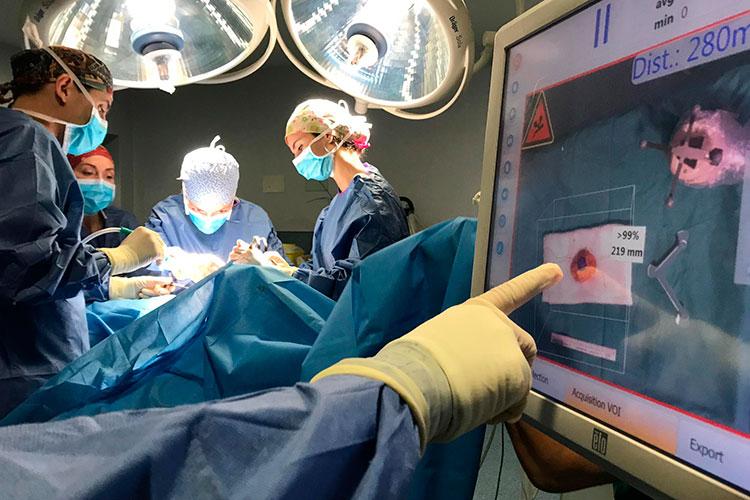 cirugía de próstata metálica