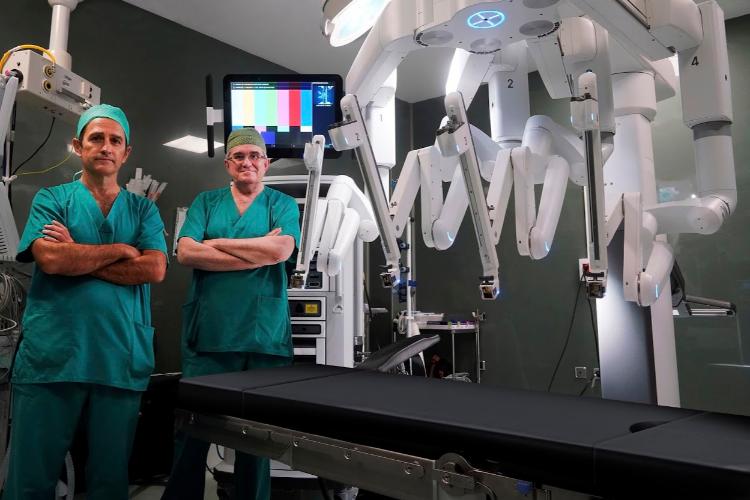 Número de cirugías para tumores de próstata robot