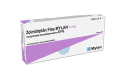 zolmitriptan flas mylan 5 mg efg