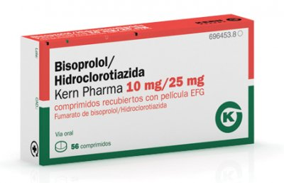kern pharma lanza bisoprololhidroclorotiazida para la hipertension arterial