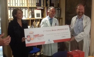 becas urosens2013 de laboratorios salvat para el hospital gregorio maran