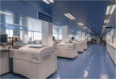 nuevo edificio de laboratorios del hospital universitario cruces