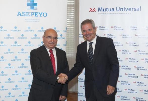 acuerdo de asistencia sanitaria entre asepeyo y mutua universal